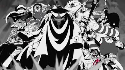 Shirohige melawan bajak laut Kurohige