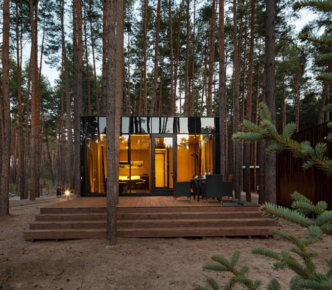 Casas minimalistas y modernas casas minimas y modernas en - Casitas en el bosque ...