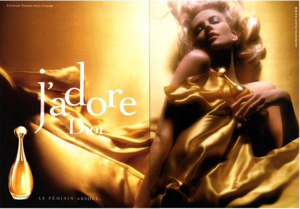 charlize theron jadore dior