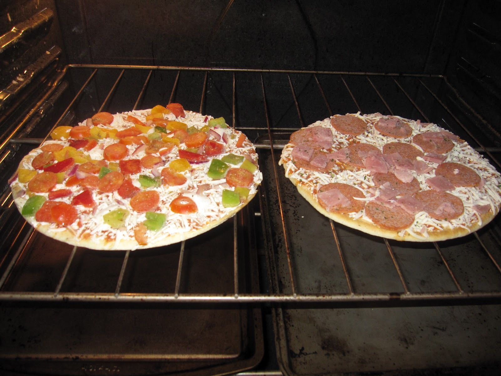 How To Make A Frozen Pizza A Blog For My Mom Ristorante Pizza Review A Sponsored Post
