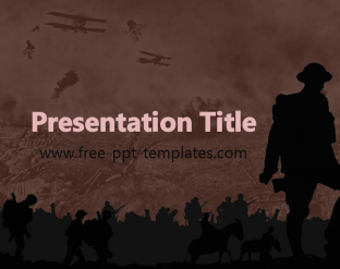 WWI PPT Template | Free PowerPoint Templates