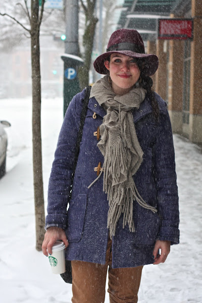 Snow fashion