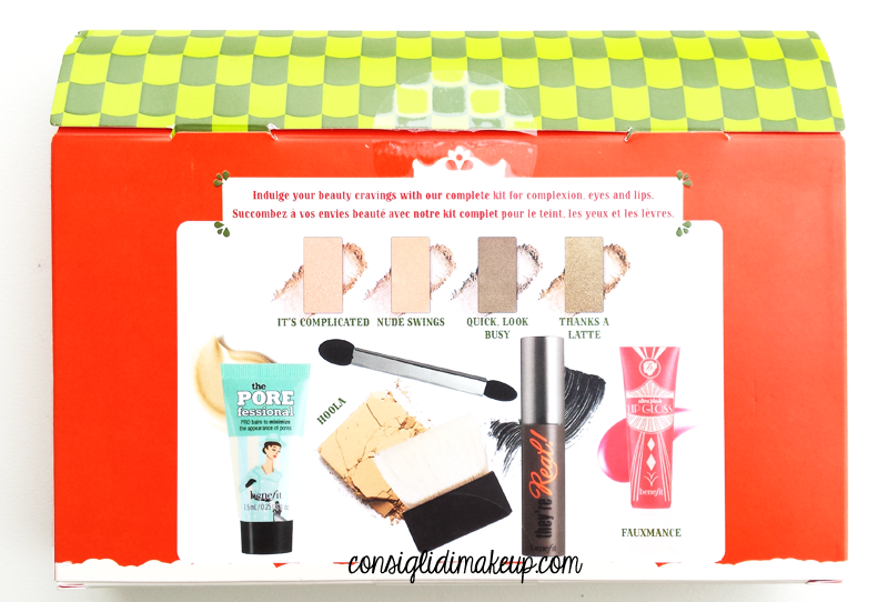 cofanetto cutie cravings benefit cosmetics