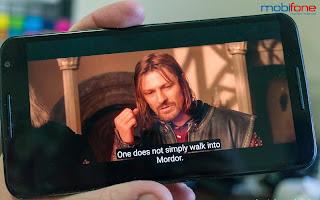 Dịch vụ xem phim chất lượng cao trên di động của Mobifone