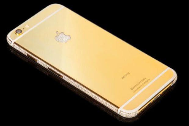 iPhone Bersalut Emas Dan Berlian Dijual RM13Juta