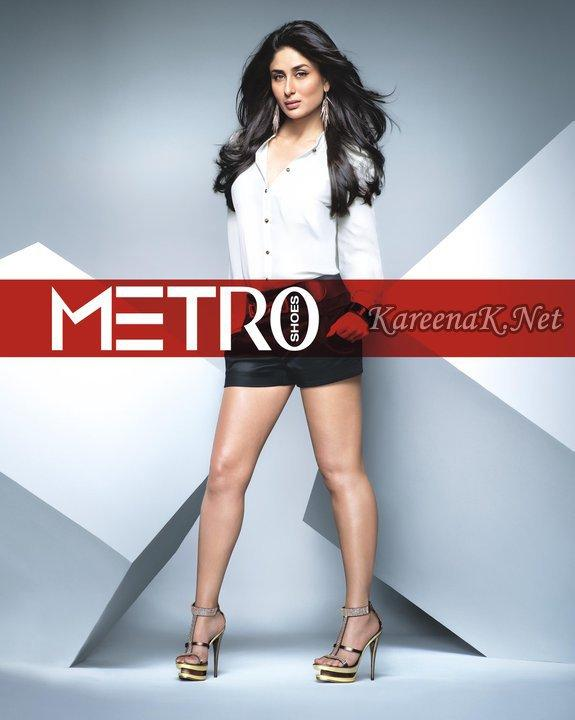 Kareena Kapoor And Saif Ali Khan Metro Shoes Ad Posters