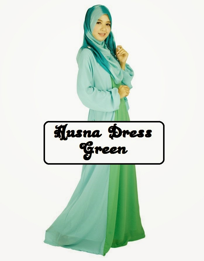 PLUS SIZE HUSNA DRESS