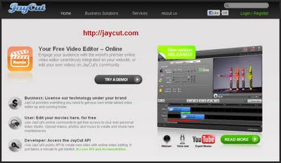 Jaycut Online Video Editing