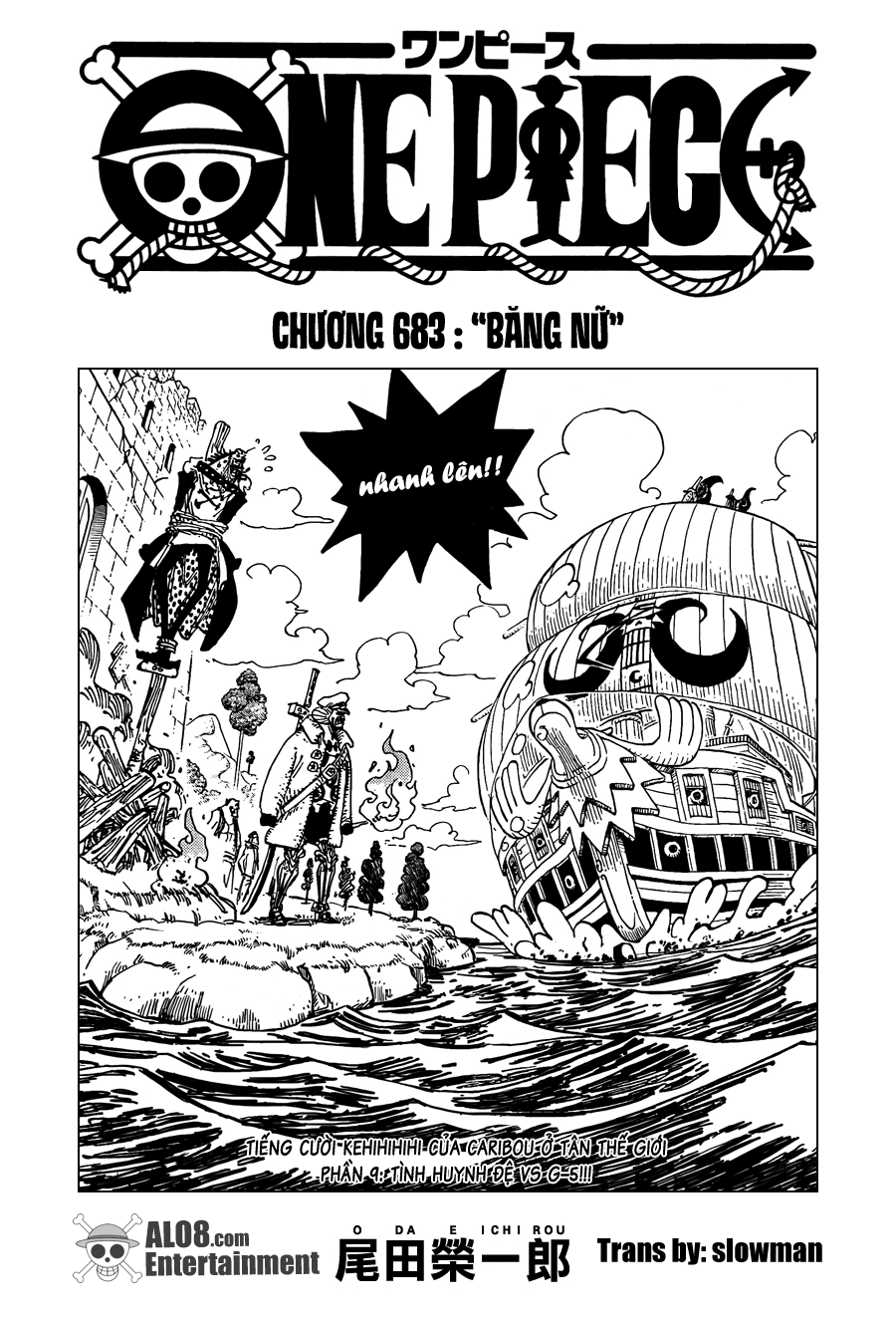 One Piece Chapter 683: Băng nữ 001