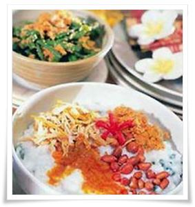 """Bali has unique culture, habit, and good religion is Hinduism. Not only that were available in Bali, today I will give you our Bali recipe for making """"Mengguh porridge""""."""