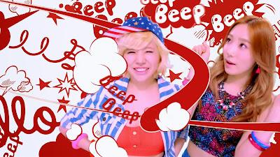 girls generation sunny taeyeon beep beep