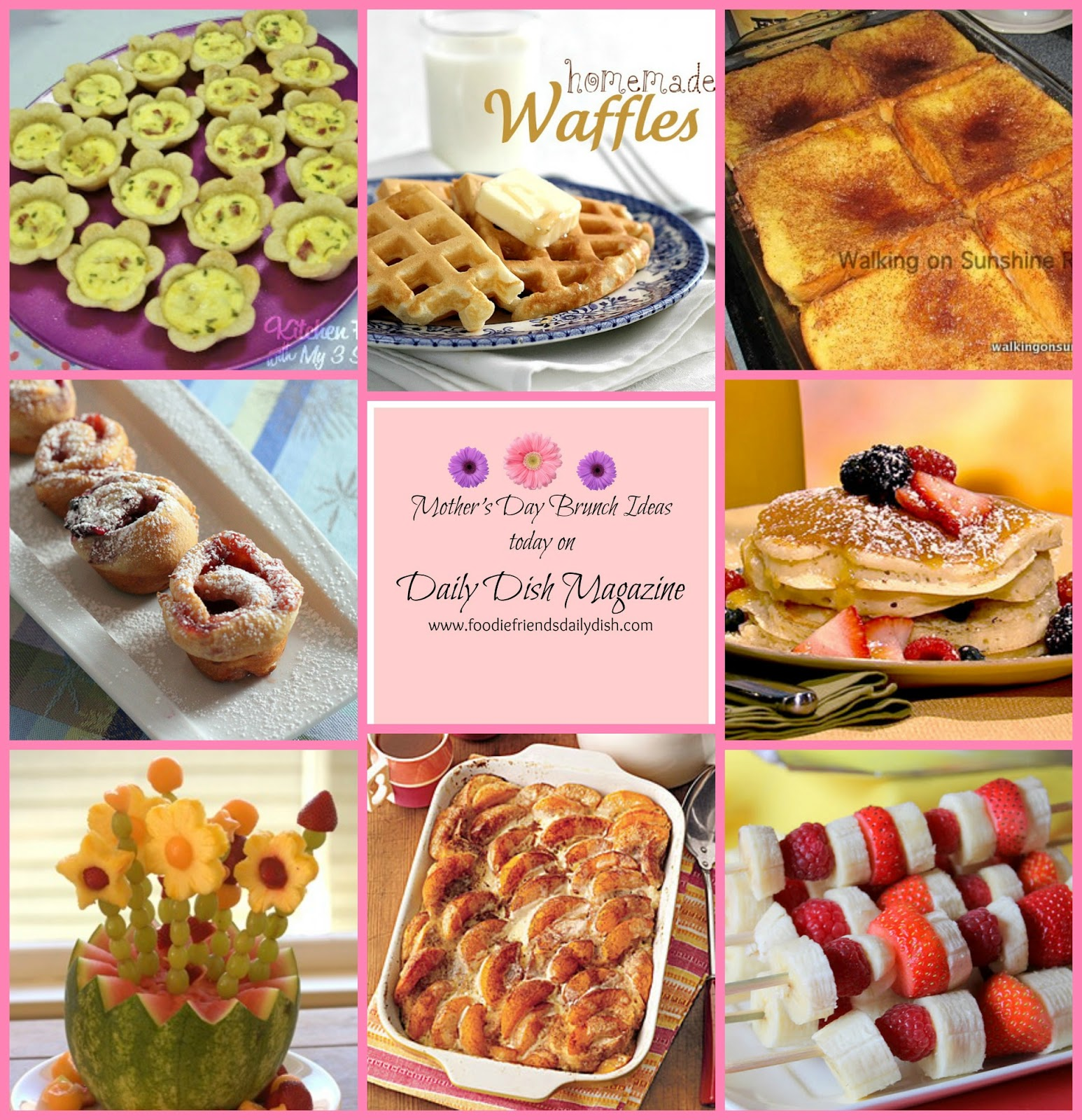 Foodie friends friday linky party 43 walking on for Breakfast ideas for mom