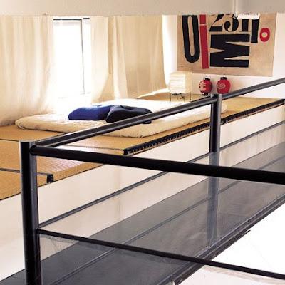 Cama Japonesa Tatami en el piso