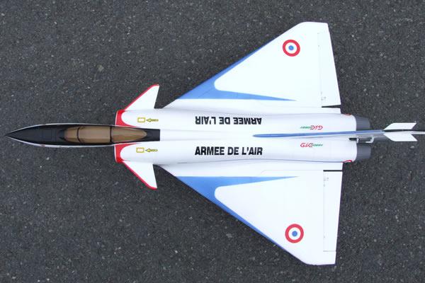 Dassault  Mirage 4000 Jet Fighter Aircraft