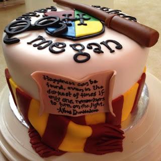Bolo de Aniversário Harry Potter - Decoração Festa Infantil Harry Potter