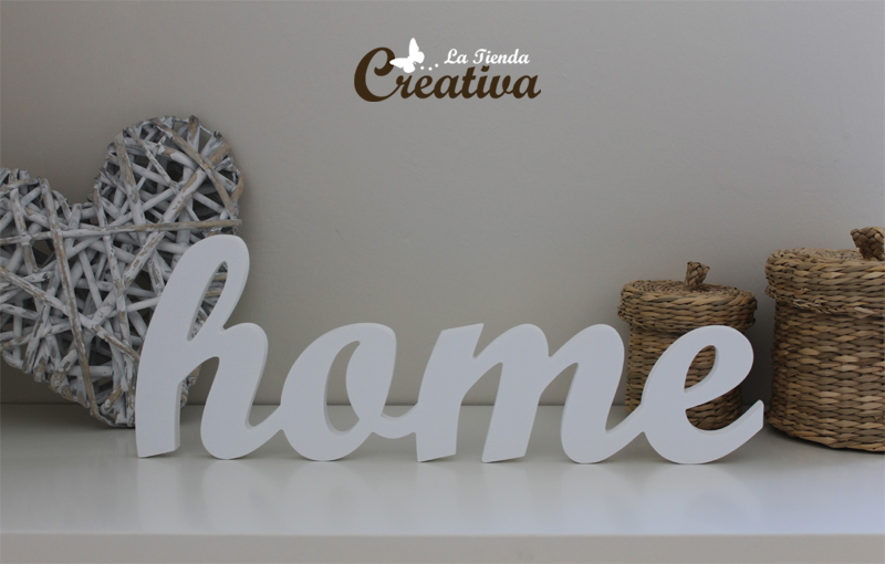 decoracion letras home