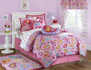 Bedroom Decor Ideas and Designs: Paisley Bedding Ideas for Kids ...
