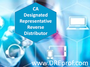 California Designated Representative Reverse Distributor Training Program