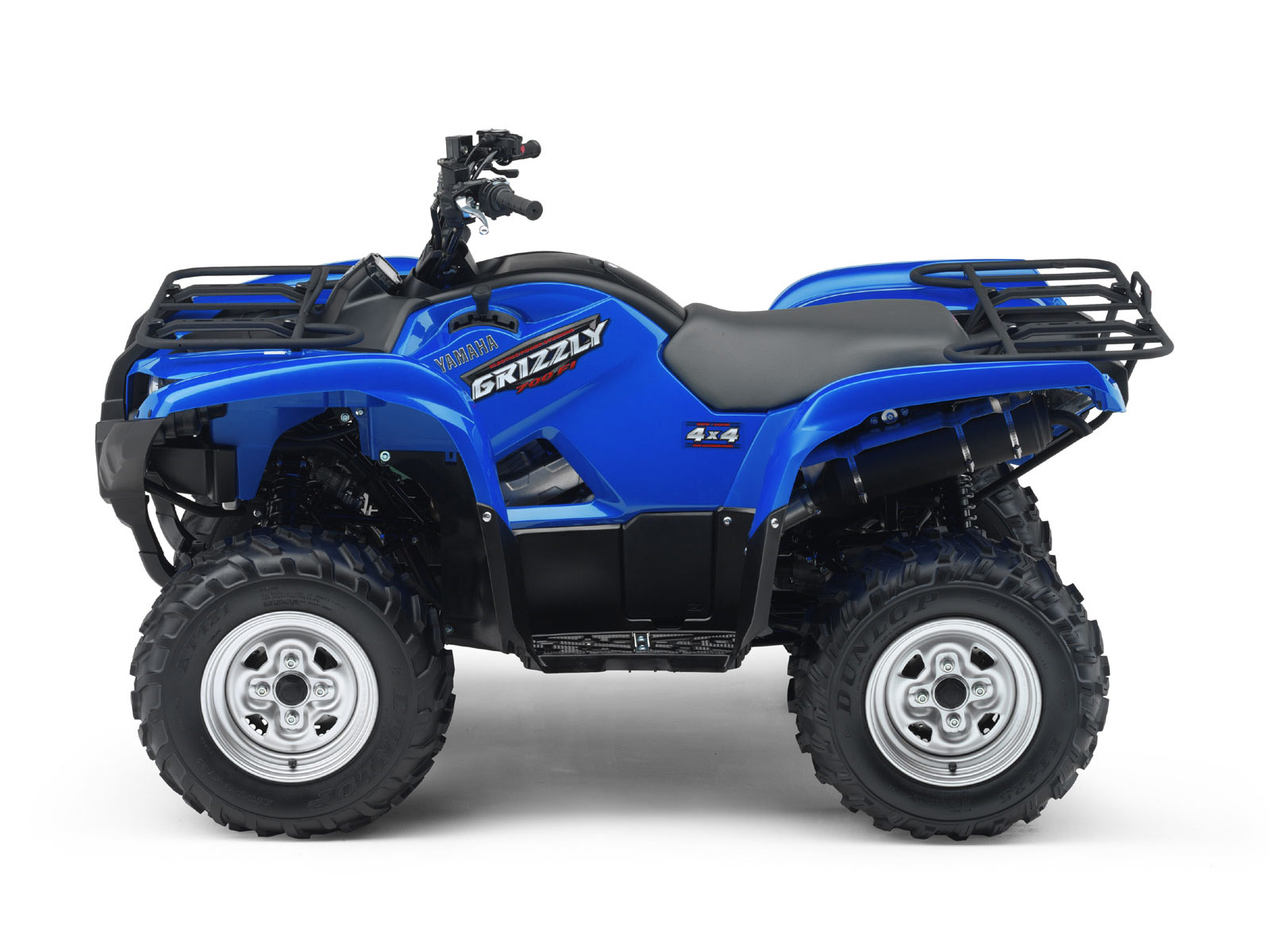 2009 grizzly 700fi yamaha atv pictures specs