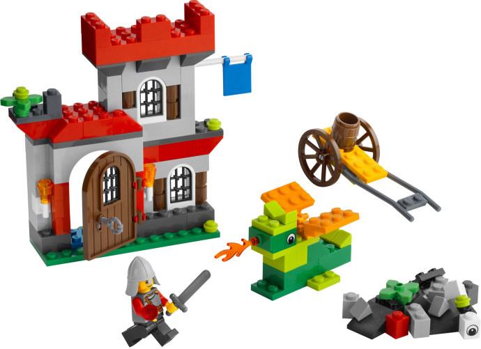 Steves Lego Blog An Easy Medieval Lego House