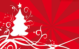 Free Download Red Christmas Wallpaper