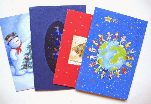 Felicitaciones navideñas para recortar detalles y decorar trabajos de scrapbooking