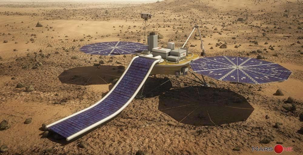 На Марс доставят семена в 2018 году (2 фото)