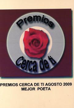 PREMIOS CERCA DE TI AGOSTO 2009