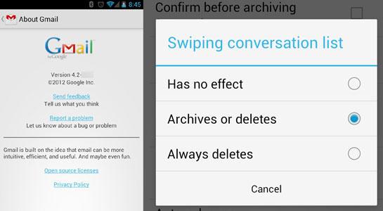 Fitur Hapus Atau Arsip Gmail Terbaru