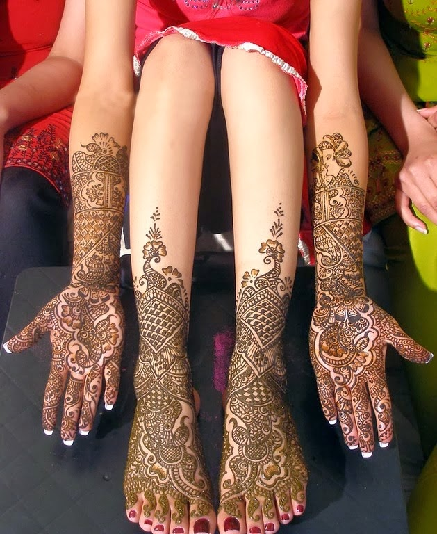 Hands-Feet Mehndi for Brides
