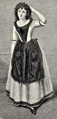 Mrs Jordan as Peggy  in The Country Girl  from Mrs Jordan, Child of Nature  by PW Sergeant (1913)