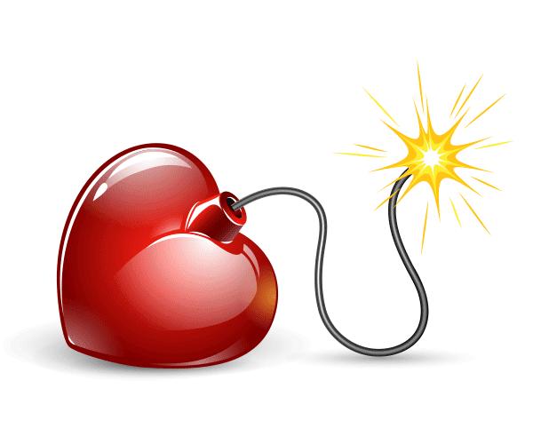 Heart Bomb Image