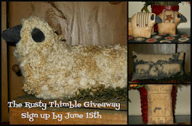 Giveaway at The Rusty Thimble