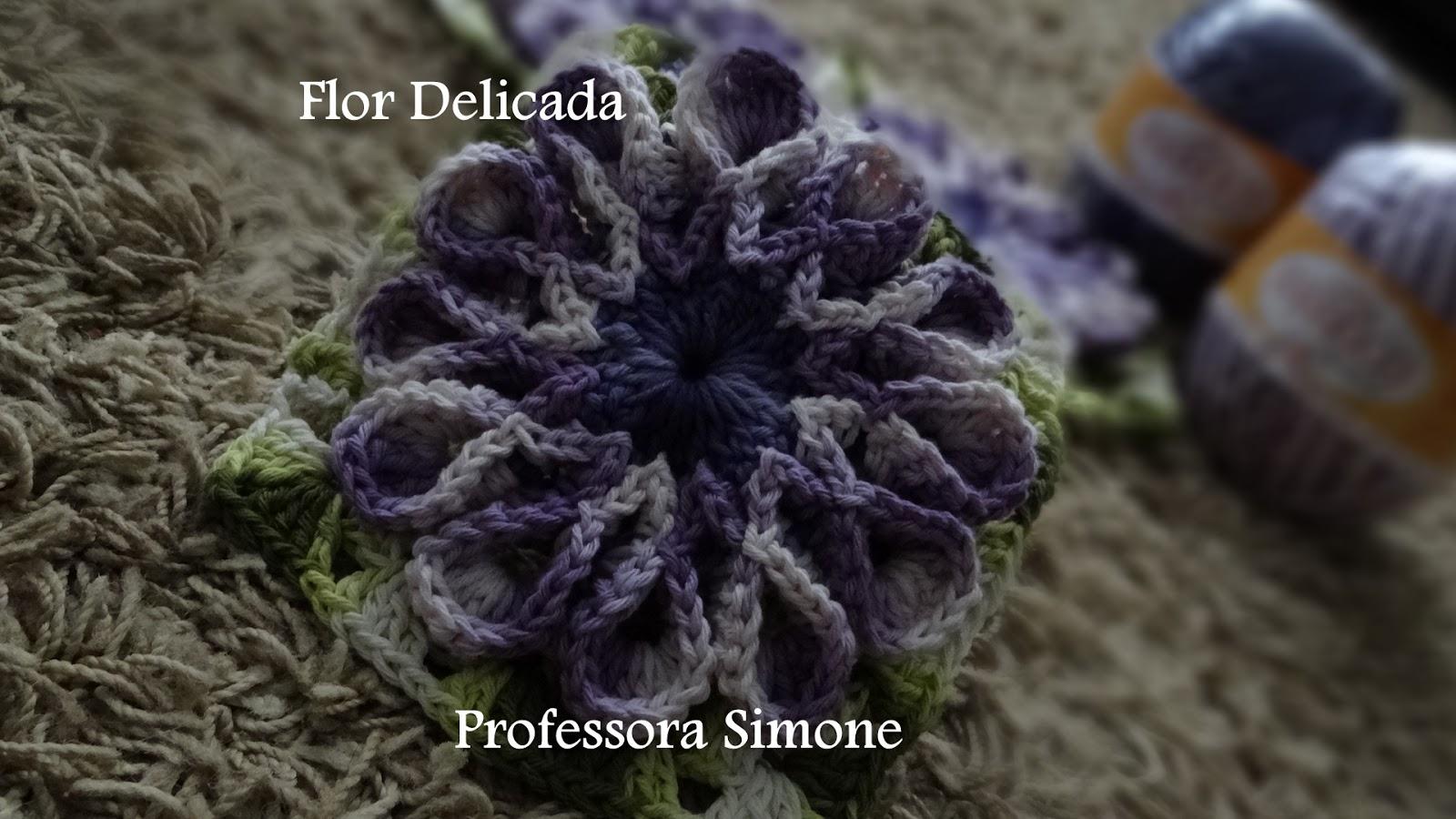 Jardim de Flores da Professora Simone | Ateliê do Barbante
