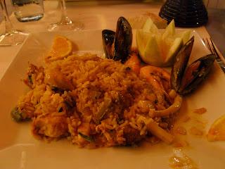 mangiare paella a fuerteventura