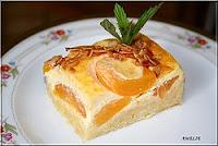 Suggestion du jour..! Gâteau aux abricots et à la crème