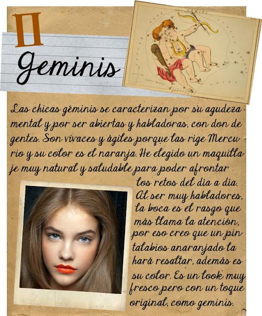 Arte de las cosas nimias maquillaje zodiacal el estilo de tu signo
