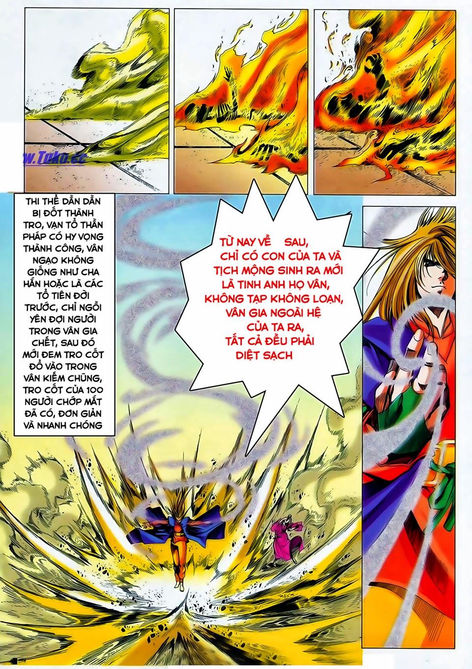 Lục Đạo Thiên Thư chap 37 - Trang 25
