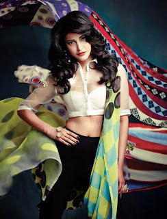 Shruthi Haasan Sexy Pics from Cineblitz Magazine Summer May 2015