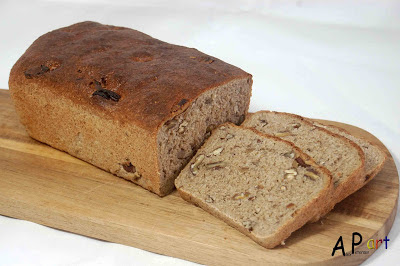 Alex the Contemporary Culinarian: Wholemeal Honey Rye bread