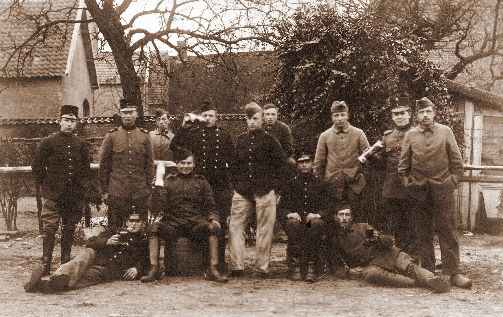 Met Douwe Arkema (rond 1914)