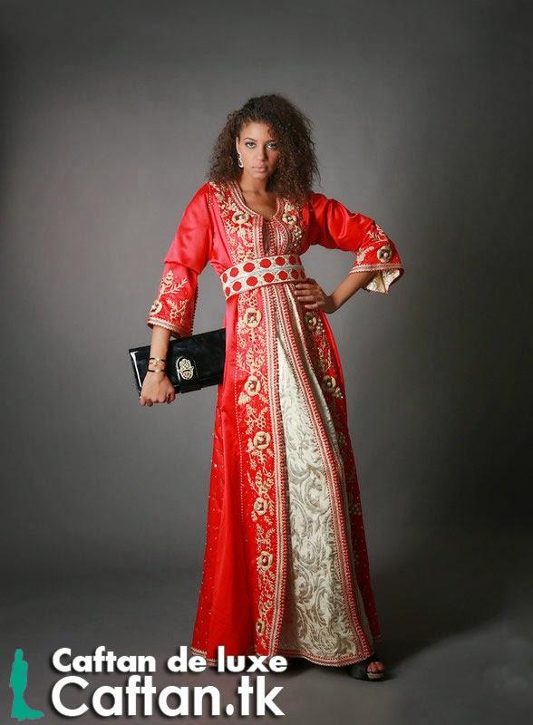 Caftan haute couture élégant design