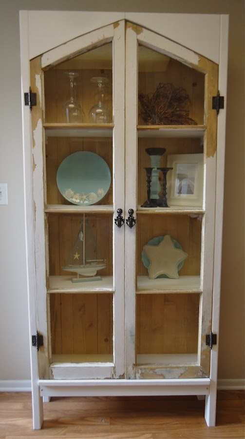 Vintage Window Cabinet - SOLD