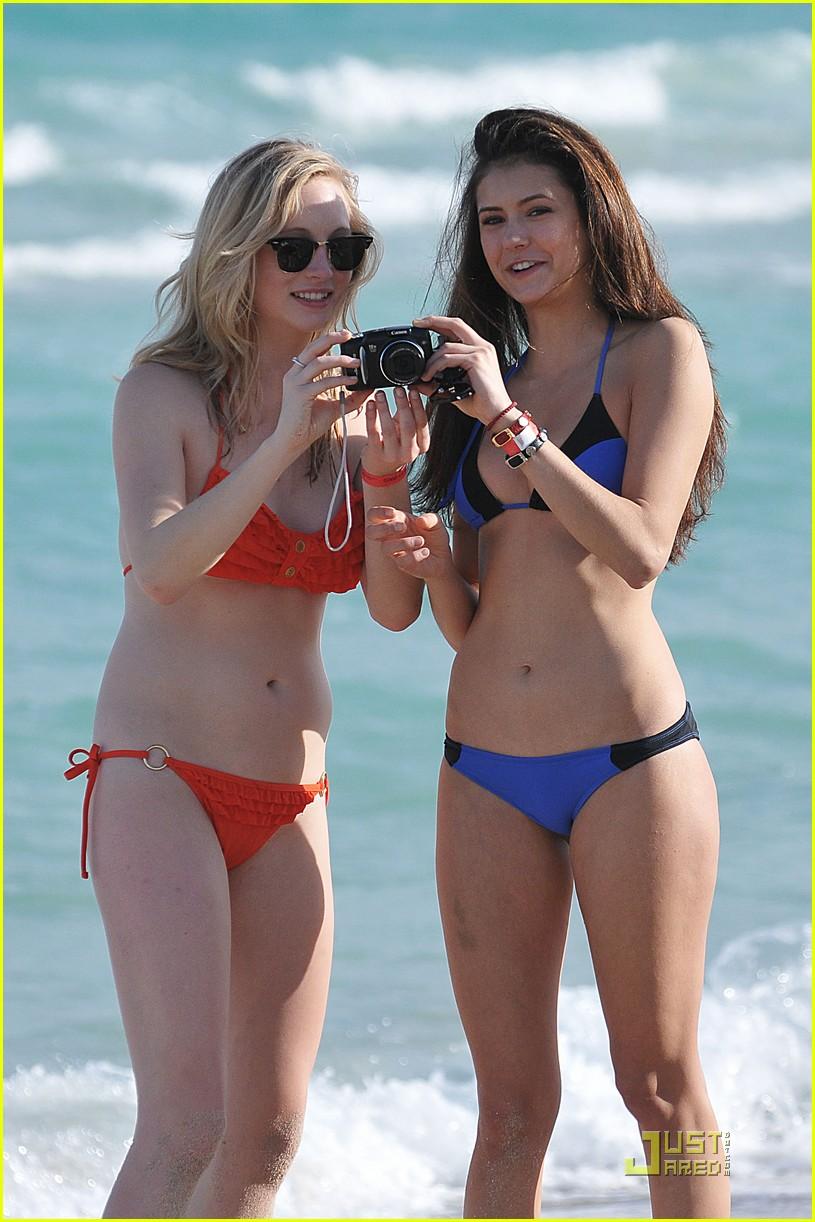Nina dobrev bikini pics