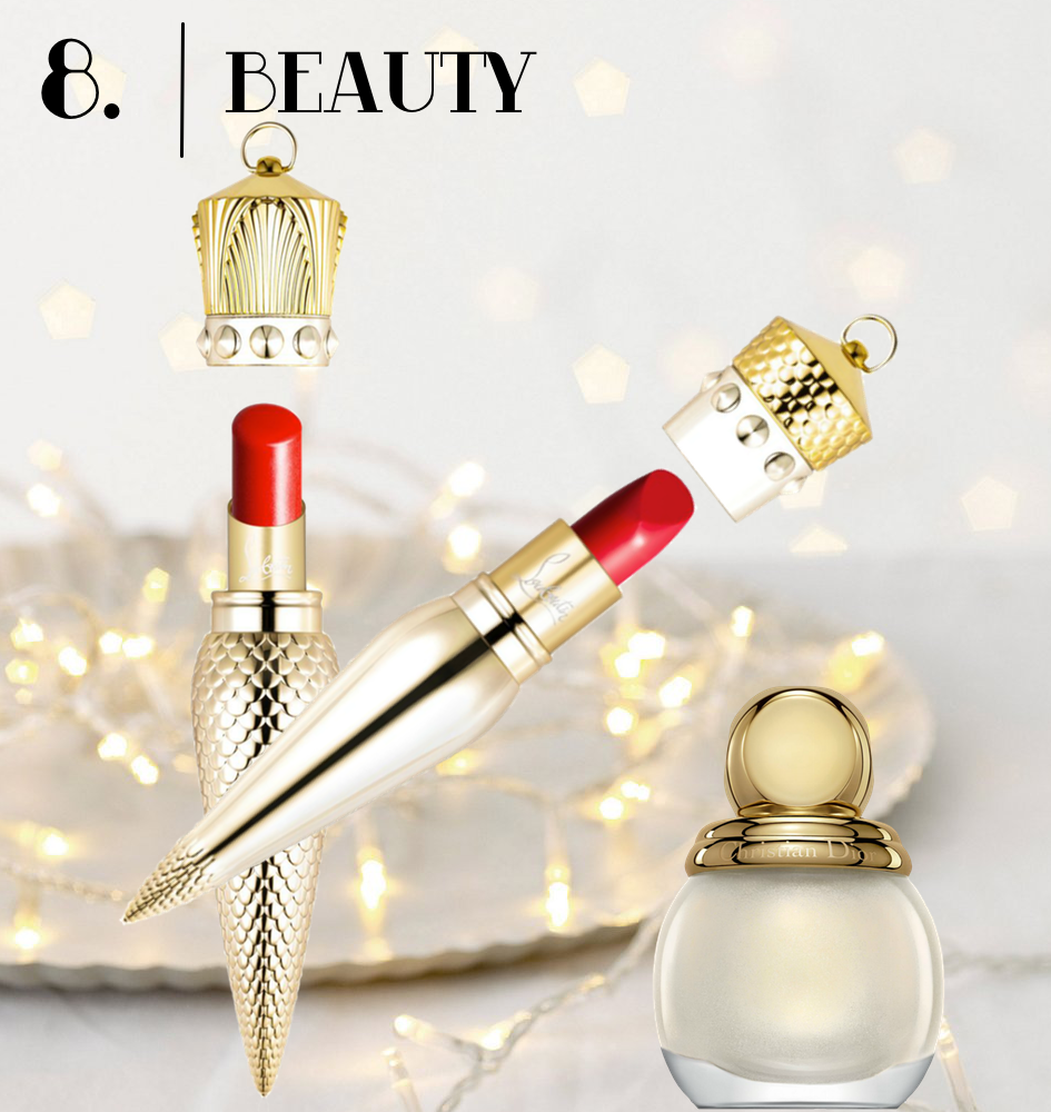 Beauty Gifts with Christian Louboutin and Dior Polish
