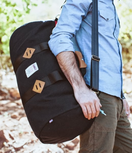 topo design x woolrich collection, top design bagpack, american menswear brands, woolrich woolen mill, mountain photography, woolrich check, topo design bag, menswear blog