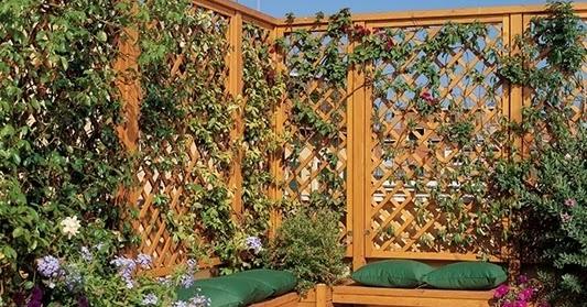Fioriere in legno salute per le piante ed eleganza per il - Piante per il giardino ...