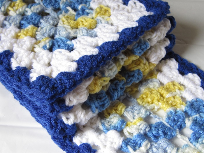 Crochet Is The Way August Scarf Of The Month Scrappy Granny
