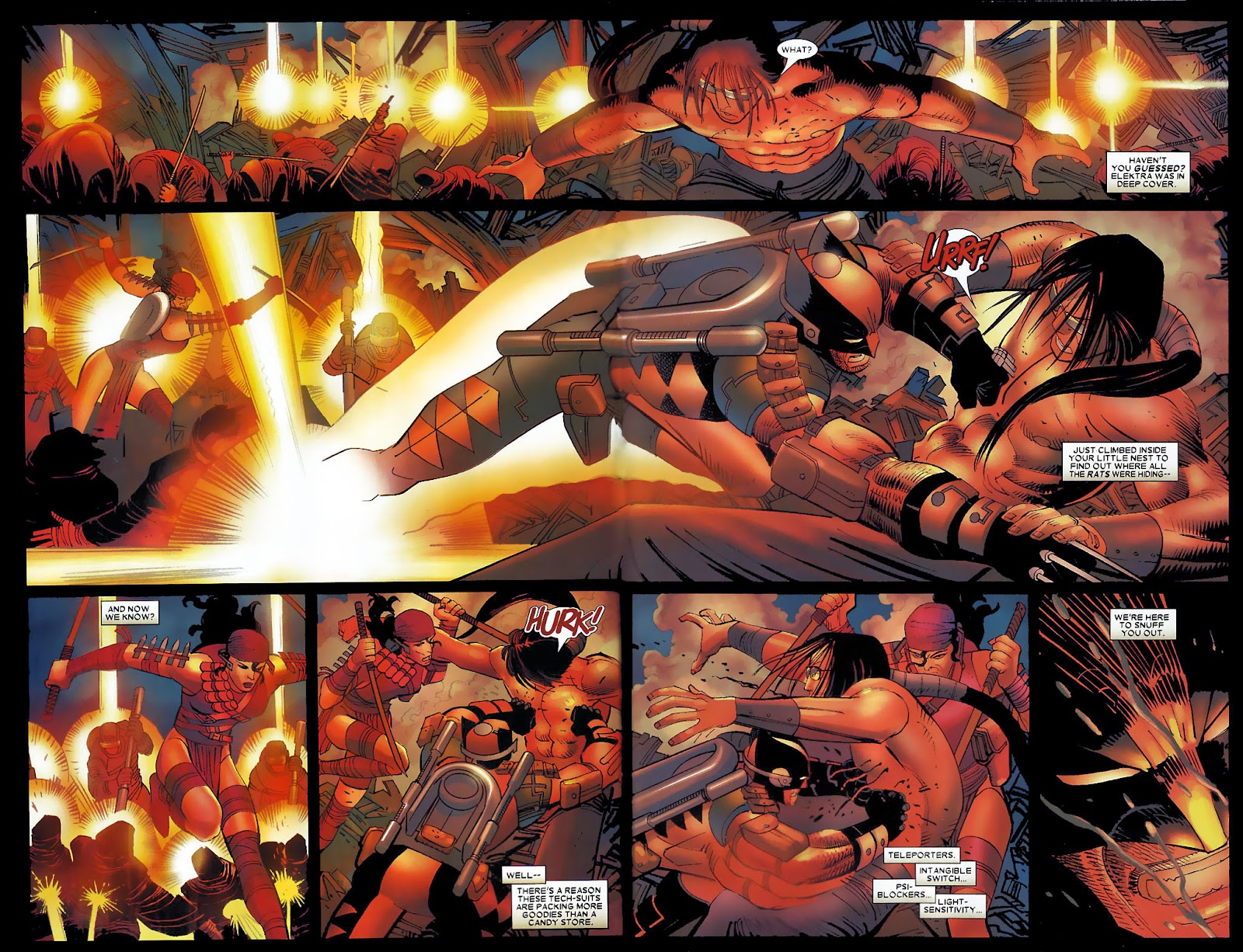 Read online Wolverine (2003) comic -  Issue #30 - 15