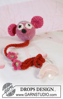 Pacifier Holder Pattern | 1000 Free Crochet Patterns